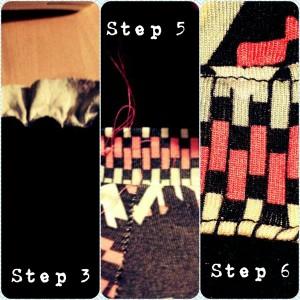 Aztec Dress Stages