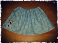 Frozen Elasticated Girls Skirt