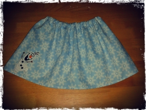 Frozen Inspired Skirt