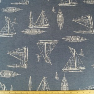 Boats Fabric