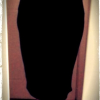 The Easy Peasy Jersey Pencil Skirt…and did I mention it cost less than £5?!
