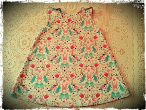 Garden Girl Pinafore Dress