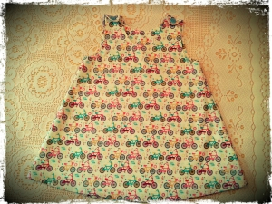 Let's Ride Pinafore Dress
