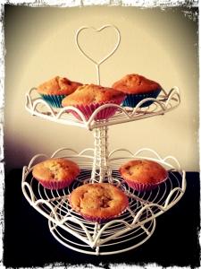 Orange & Raspberry Cupcakes