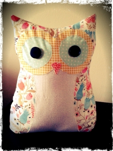 Owl Doorstop or Pin Cushion