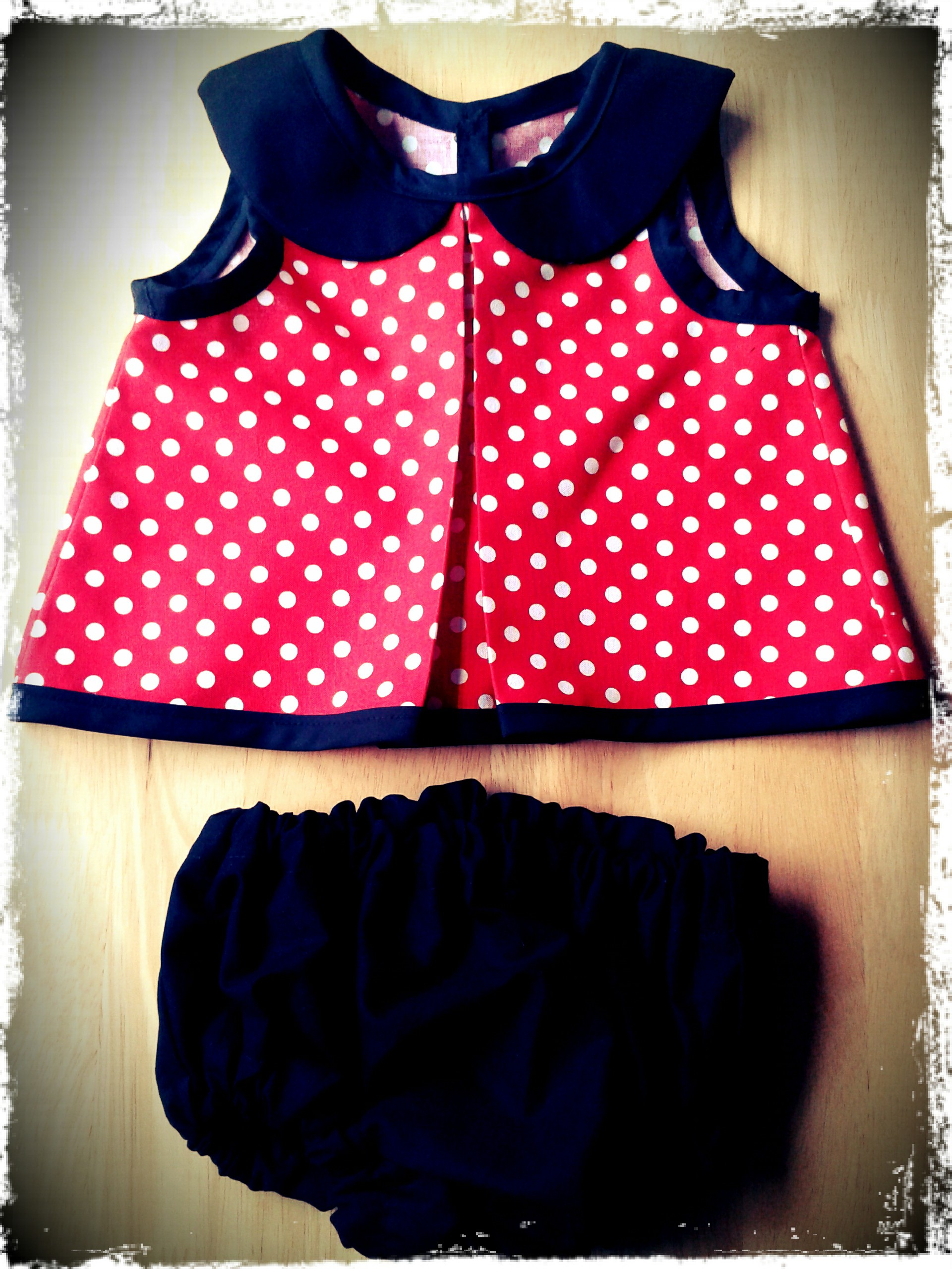 Minnie Mouse Baby Dress – What Corrine Did Next