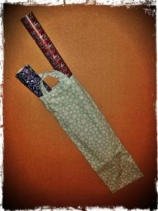 gift wrap holder