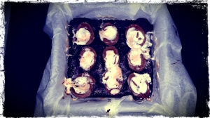 Cadburys Creme Egg Brownies