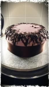 Iced Fondant Cake