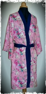 Silk bath robe dressing gown pattern