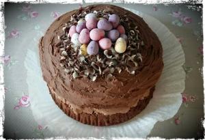 Mini Egg Nest Cake