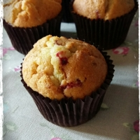 Orange and Raspberry Muffins