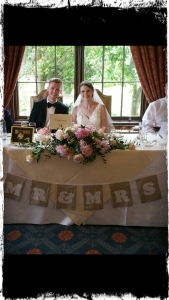 Handmade Wedding Bunting