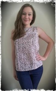 Mathilde Top Sewing Pattern