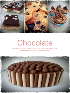 Free recipe book chocolate